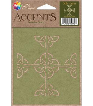 Delta Creative Decorative Stencils Celtic Cross