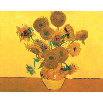 Reeves Paint By Number Artist's Collection Sunflowers