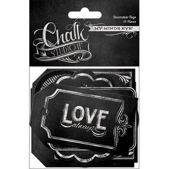 Chalk Studio 2 Decorative Tags 15/Pkg-