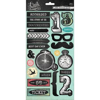 Chalk Studio 2 Cardstock Stickers-Icons