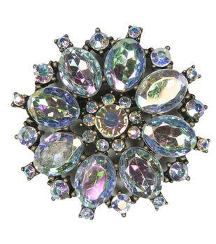 Laliberi Rhinestone Pin - Crystal AB Burst