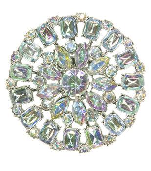 Laliberi Rhinestone Pin - Crystal AB Round