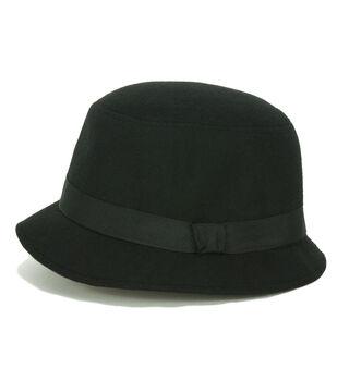 Laliberi Black Cloche Hat
