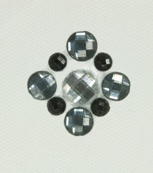 Laliberi Four Corners Iron-On-Gem Clusters 4 pack