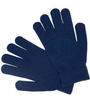 Laliberi Winter Knit Heavyweight Gloves In Cobalt