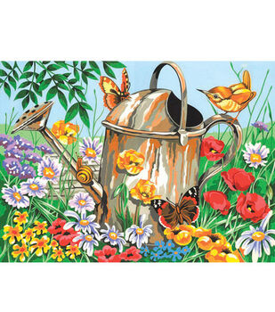 12''x15-1/2'' Paint By Number Kit-Watering Can