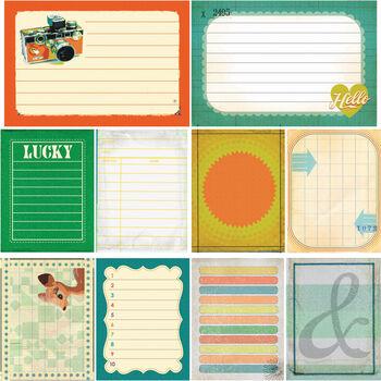 Studio Calico Darling Dear Journaling Cards