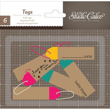 Studio Calico Printshop Kraft Tags