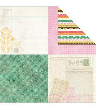Adorn-It Viva La Glam Double-Sided Cardstock Paper Ticker Tape