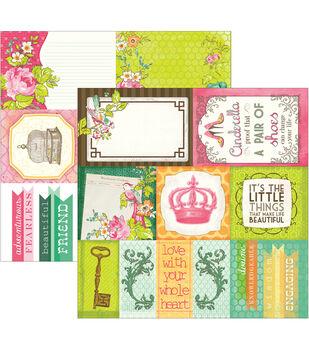 Adorn-It Viva La Glam Double-Sided Cut Apart Cardstock Paper