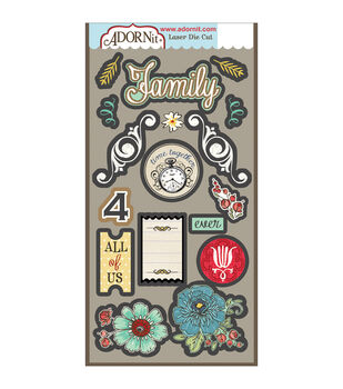 Adorn-It Chamberry Laser Die-Cuts 4 Ever