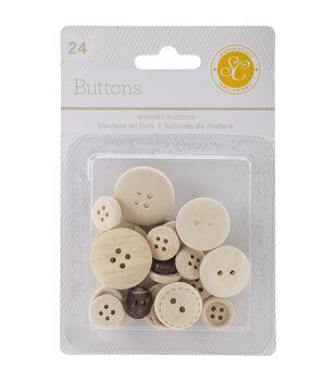 Studio Calico Wanderlust Wooden Buttons