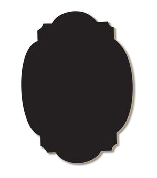 Adorn-It Chalkboard Surfaces Lovely Curves