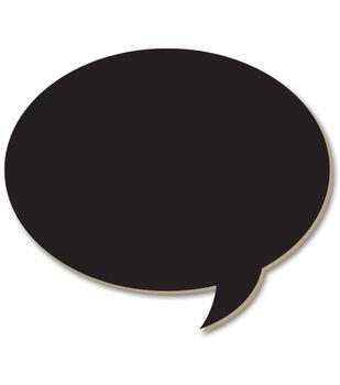 Adorn-It Chalkboard Surfaces Oval Bubble