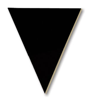 Adorn-It Chalkboard Surfaces Triangle Pennant