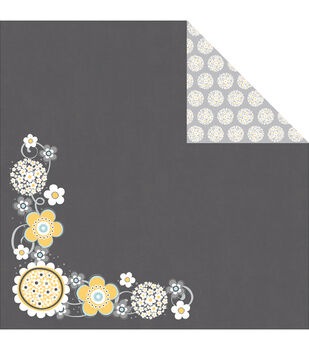 Adorn-It Daisy Cluster Family Patchwork Paper