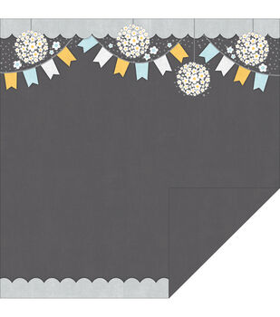 Adorn-It Daisy Picnic Family Patchwork Paper