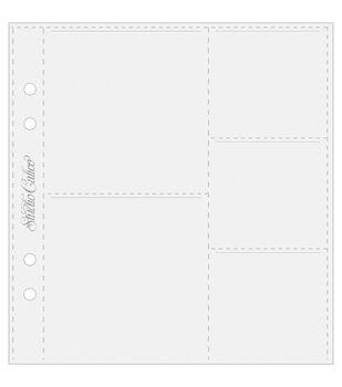 """Made In A Snap Page Protectors 6""""X7"""" & (5) 7""""X7"""" Pockets"""