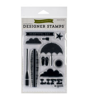 Echo Park Stamp Set-Beach Day