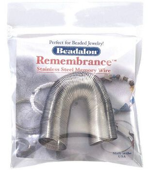 Remembrance Memory Wire Ring Coil-.25 Oz/Stainless Steel