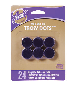 Aleene's Magnetic Tacky Dots 24/Pkg