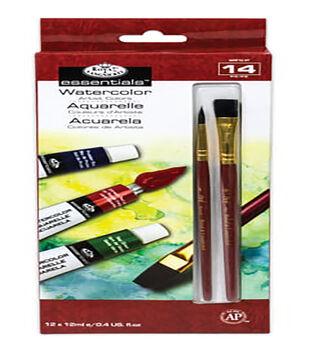 Royal Brush Essentials 12 mL Watercolor Paint Set-12PK