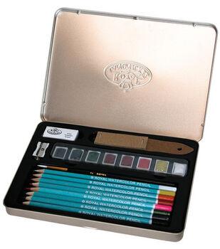 Watercolor Pencil Art Kit