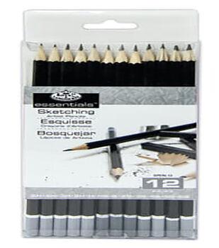 Royal Brush Sketching Pencils-12PK