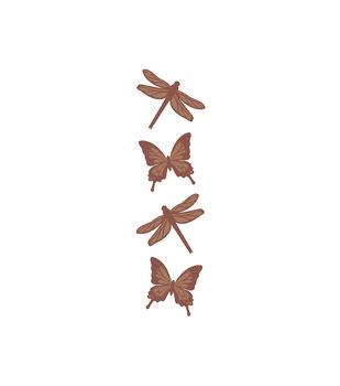 Butterflies & Dragonflies Wood Embellishments