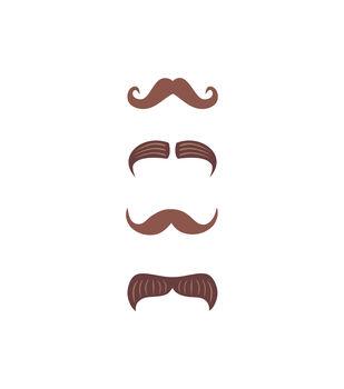 Mustaches Wood Embellishments