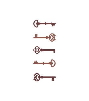 Keys Wood Embellishments