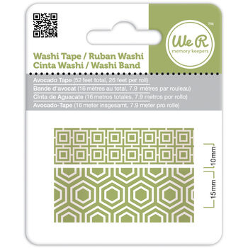 We R Memory Keepers Washi Tape Avocado