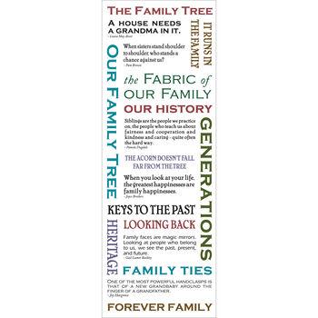 Momenta Vellum Message Stickers Family Tree