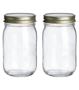 Art-C Mini Glass Mason Jars