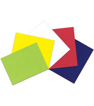 "Kunin Self-Adhesive Presto Felt Assortment 9""X12"" 5pc-Brilliants"