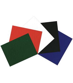 "Kunin Self-Adhesive Presto Felt Assortment 9""X12"" 5pc-Essentials"