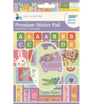 Premium Sticker Pad-Born To Be Wild
