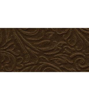 "Kunin/Foss-Galleria Embossed Felt 9""X12"" 24/Pkg-Cocoa Brown"