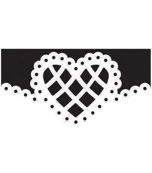 Martha Stewart Crafts Deep Edger Punch Lattice Heart