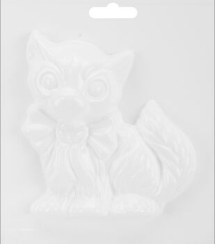 "Yaley Plaster Casting Plastic Mold 6""X6""-Cat"