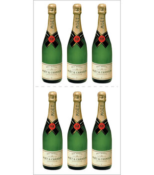 Paper House Stickers-Champagne Bottle