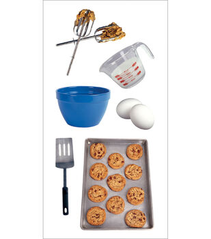Paper House Stickers-Baking