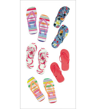 Paper House Stickers-Flip Flops