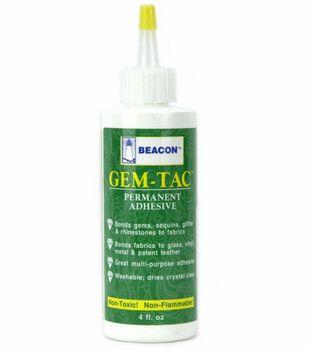 Gem-Tac Permanent Adhesive 4 oz