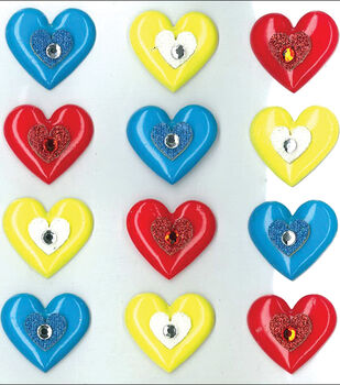 Jolee's Cabochons-Hearts