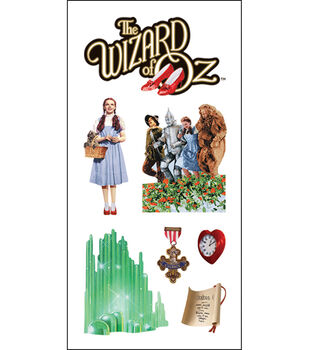 """Paper House Stickers 2""""X4"""" 3/Pk-Wizard Of Oz"""