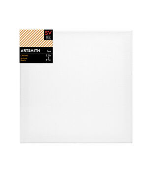 Jo-Ann Stores Stretched Canvas Super Value Pack 12''x12''