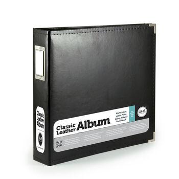 Classic Leather Black 8x8 Album