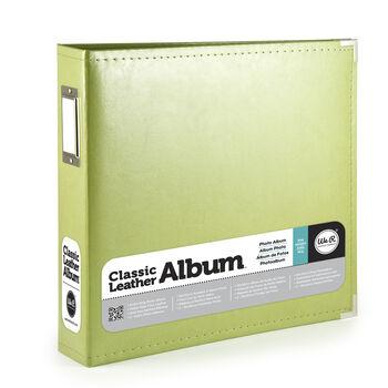 Classic Leather Kiwi 8x8 Album