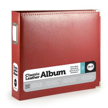 Classic Leather Red 8x8 Album